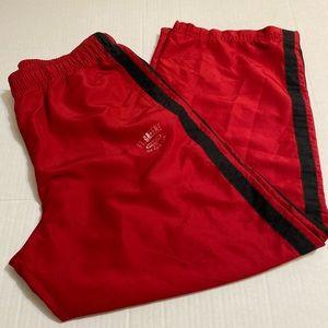 Old Navy VTG classic men's red track pants size L